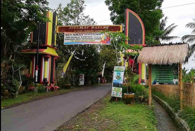 Desa Kembang Kuning Juara Kampung Sehat NTB 1