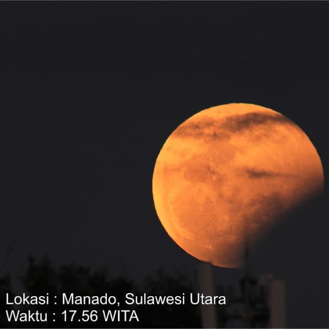 Gerhana Bulan Blood Super Moon 1