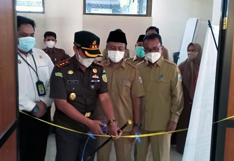 Kejaksaan Berkantor di Gedung Sekretariat Daerah Kabupaten Sumbawa Barat