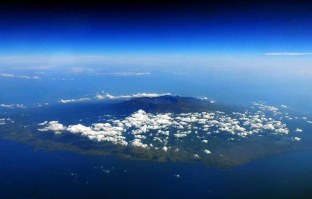Taman Nasional Gunung Tambora Dari Udara
