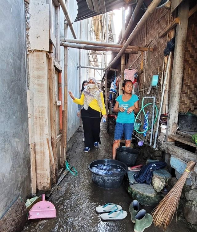 Wakil Bupati Sumbawa Cek Permukiman Penduduk Bantaran Sungai