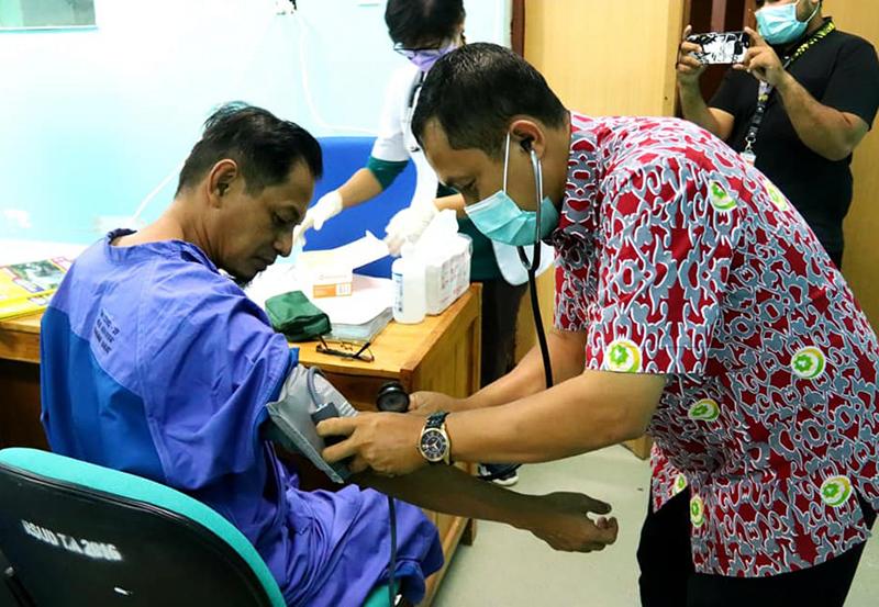 Kandidat Sekda KSB Jalani Medical Check Up di RSUD Asy-Syifa'