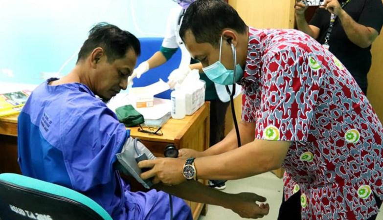 Kandidat Sekda KSB - Medical Check Up di RSUD Asy-Syifa'