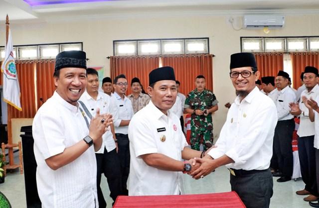 Nurdin Rahman Pencanangan Zona Integritas di BPKD KSB
