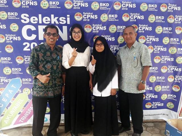 dr. Dwi Indrianti Firmatasari Saat Mengikuti Seleksi CPNS Tahun 2018