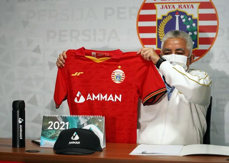 AMMAN Resmi Jadi Official Sponsor PERSIJA Jakarta Musim 2021-2022