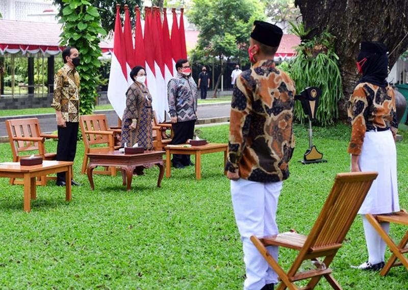 Mery Agustina dan Yasser Ramadhani Dinobatkan Sebagai Duta Pancasila Untuk NTB Oleh Presiden Jokowi di Istana Merdeka