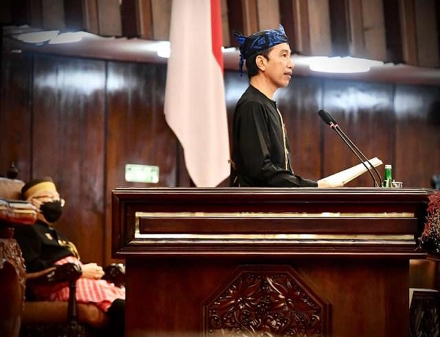 Pidato Kenegaraan Presiden Jokowi pada Sidang Tahunan MPR RI 16 Agustus 2021 1