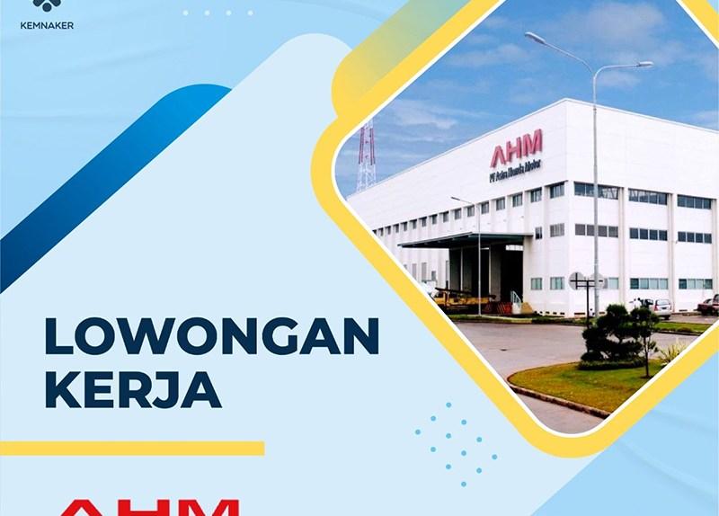 Lowongan Kerja PT Astra Honda Motor AHM Cover