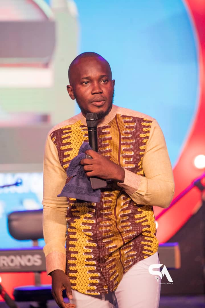 Dr. OB Amponsah, The Ultimate Comic MC You can Trust.