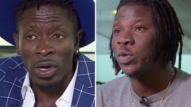 You are currently viewing JUST IN: STONEBWOY & SHATTA WALE TO APPEAR BEFORE COURT AS POLICE CEASE THEIR GUNS