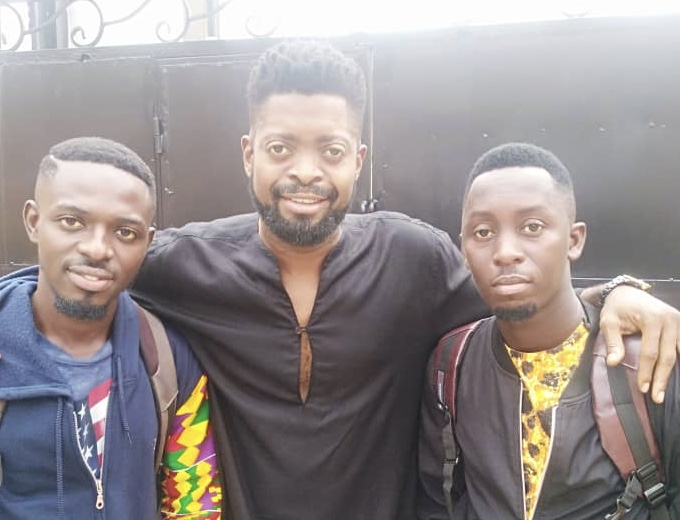 Comedian Khemikal and Waris Raise The Flag Of Ghana High With Excellent Performance In Nigeria.