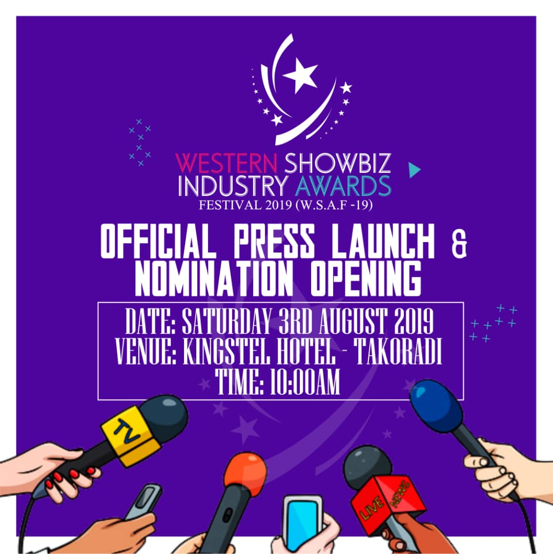2nd Annual Western Showbiz Industry Awards festival Edition launch on August, 3rd 2019.