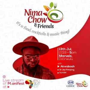 Nima Chow Restaurant presents a hang out with Nima Chow and Friends