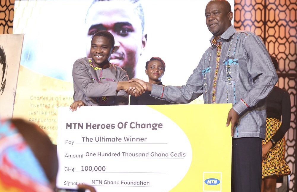 Charles Ofori Antipem Wins MTN Heroes of Change Season 5