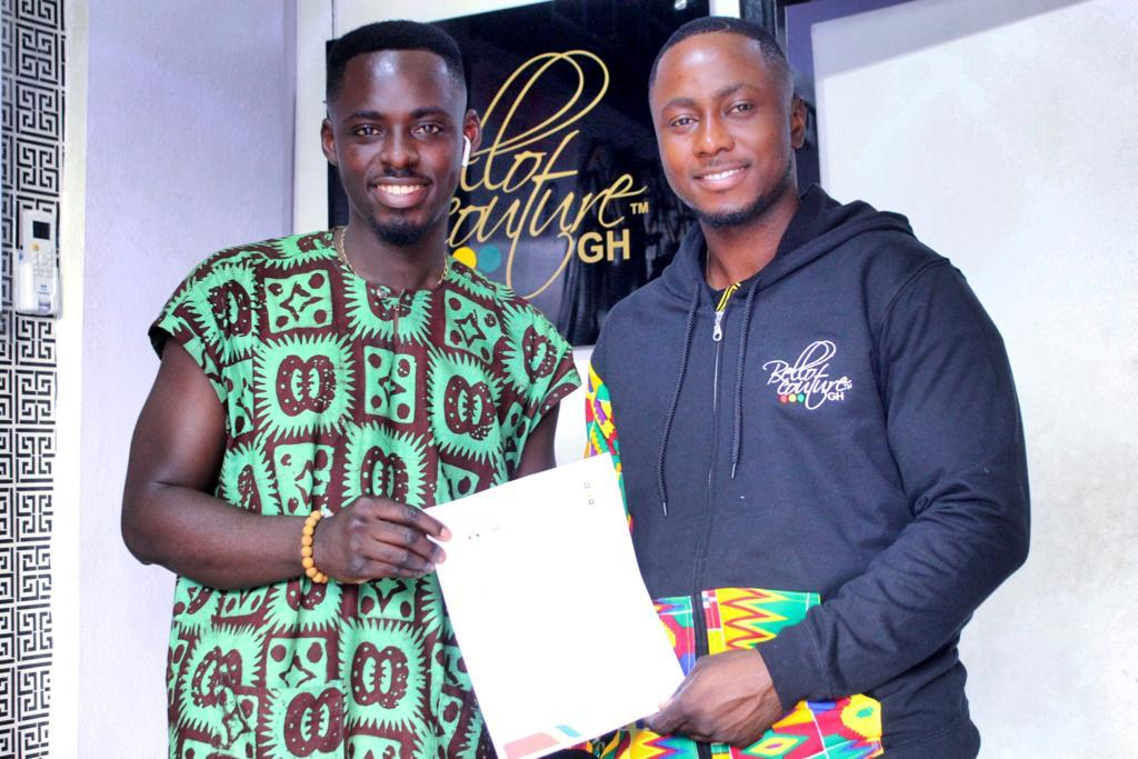 Edwin Elikem Named Brand Influencer for Bellocouture Ghana