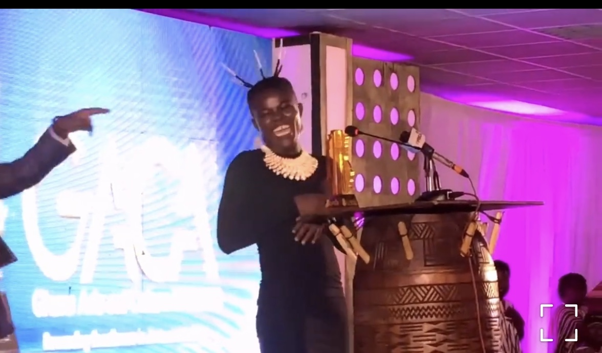 Wiyaala Crowned Overall Artiste Of The Year At The Maiden Edition Of Ghana Arts And Culture Awards.