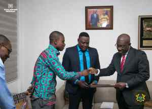 Oppong Nkrumah honoured for apt management of Government information