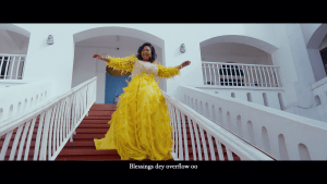 Empress Gifty's New Visuals Shot At Osu Castle.