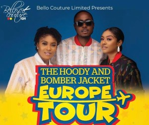 The Hoody And Bomber Jacket Tour – Bello Couture To Tour Europe