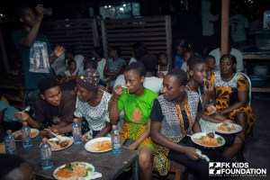 PHOTOS; FK Kids Foundation Feeds Hundreds In 3rd Edition Of Free Food 4 Kids