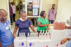 CORONAVIRUS: CAPEMAY PROPERTIES LIMITED SUPPORTS 37 MILITARY HOSPITAL & KORLE BU.