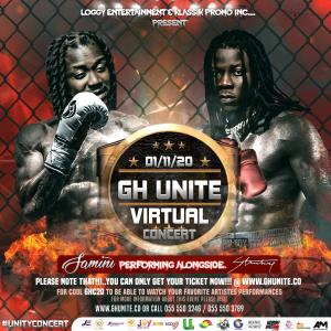 "Stonebwoy, Samini, Kofi Kinaata And Kuami Eugene To Promote Peace In ""GHUnite Virtual Concert"""