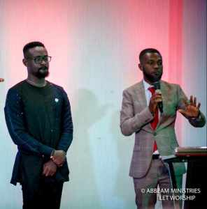 """Abbeam Ministries Bless Kobby Kyei's """"Go There"""" Initiative With £1000"""