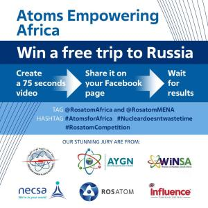 'Atoms Empowering Africa' Online Video Competition Launched, Winners Go To Russia