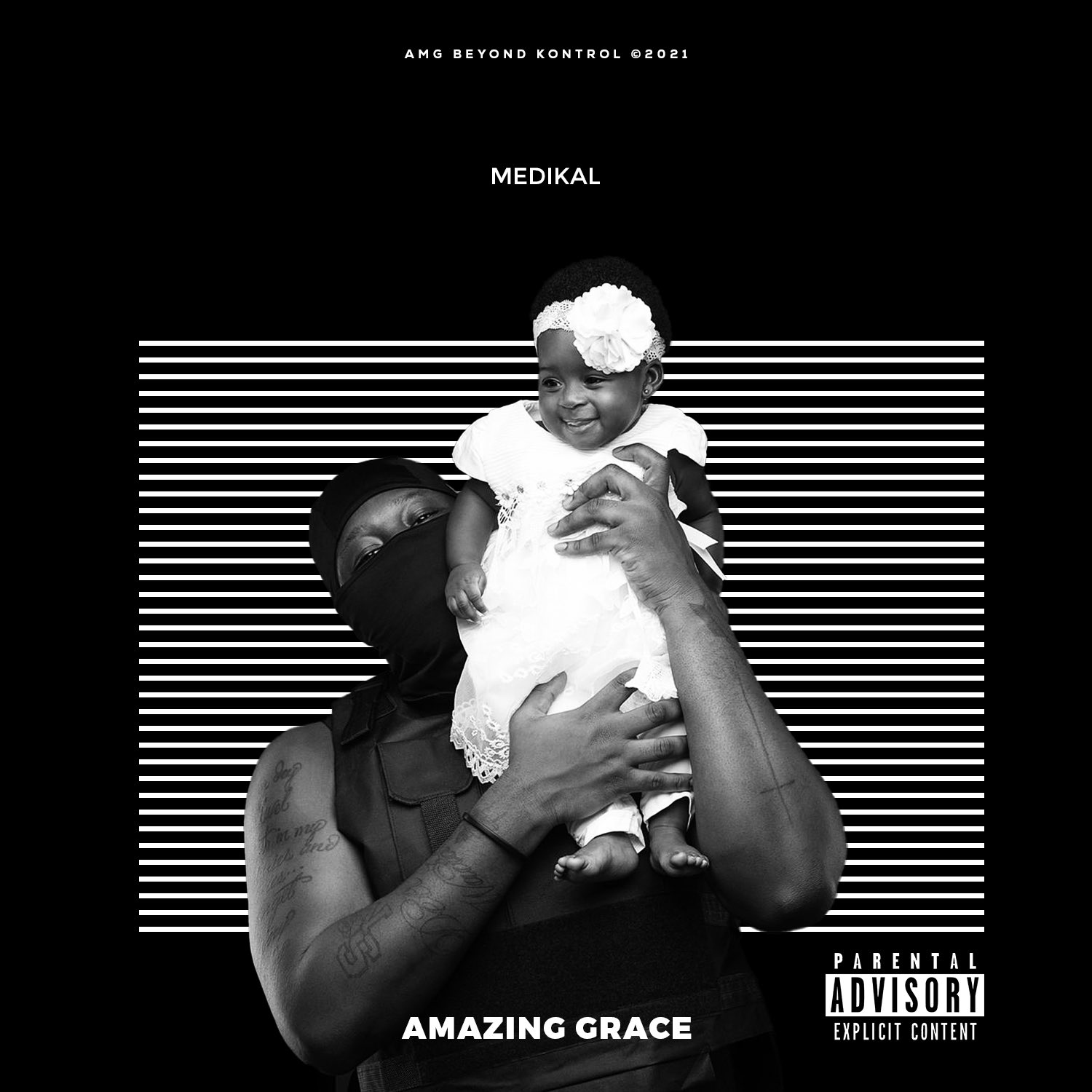 Medikal Unveils Tracklist And Cover Art Of His Forthcoming EP 'Amazing Grace'