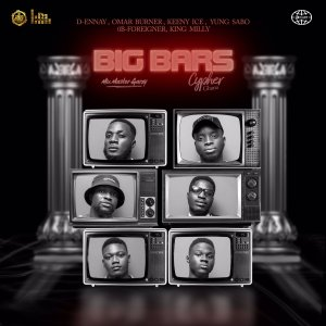Mix Master Garzy Presents 'The Big Bars' Cypher With 6 Talented Ghanaian Rappers