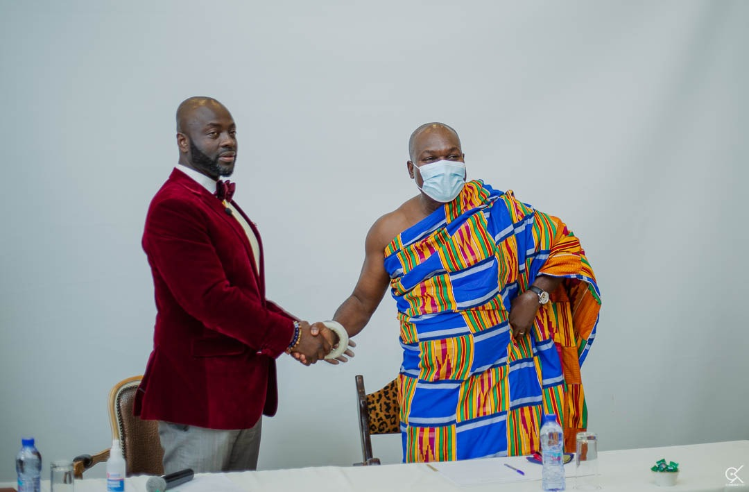 Akwamu State Gives Dr Michael Obeng 100 Acres Of Land For $50m Pharmaceutical Plant