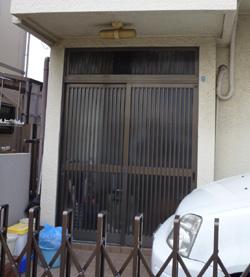 玄関 カバー工法