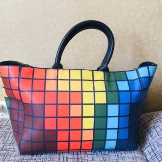 Beautiful Multi Colors Eye catching Women's handbag