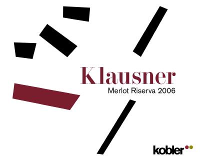 Südtiroler Merlot Riserva Klausner Kobler