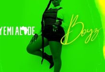 DOWNLOAD MP3: Yemi Alade – Boyz Official Song