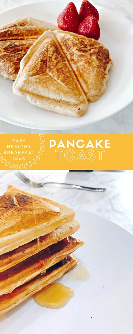 healthy nigerian breakfast idea pancake toast