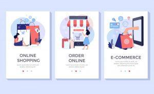 خيارات متعددة للتسوق عبر الانترنت