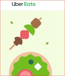 توصيل الطعام عبر اوبر ايتس
