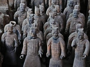 Qin Shi Huang Chinese Cemetery مقبرة تشين شي هوانج الصيني