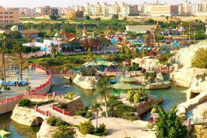 تم إنشاء دريم بارك مصر على مساحة تقدر بحوالي 200 فدان