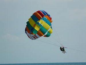 القفز المضلي كيب تاون جنوب افريقيا paragliding Flight