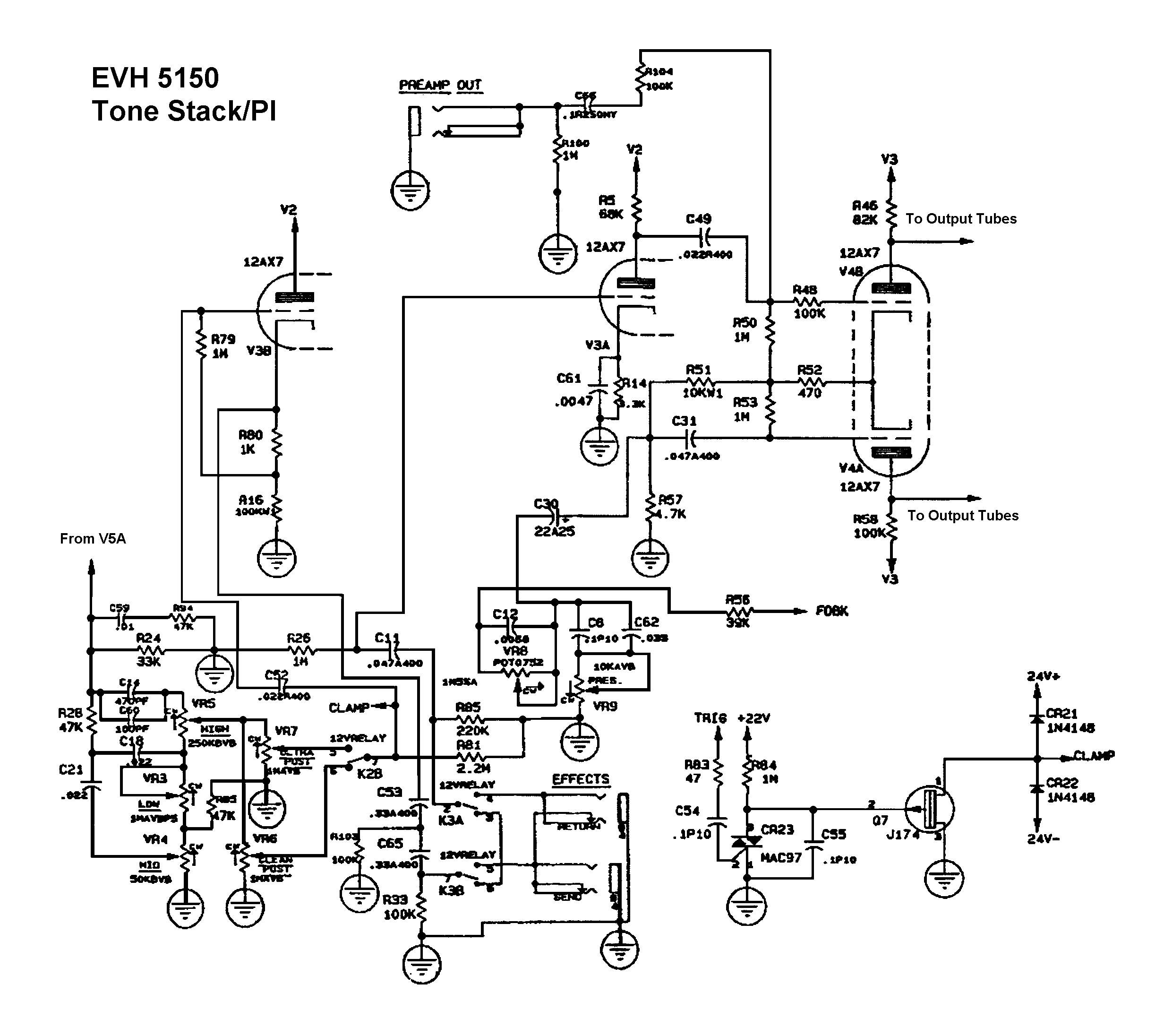 Peavey Cirrus Bass Wiring Diagram