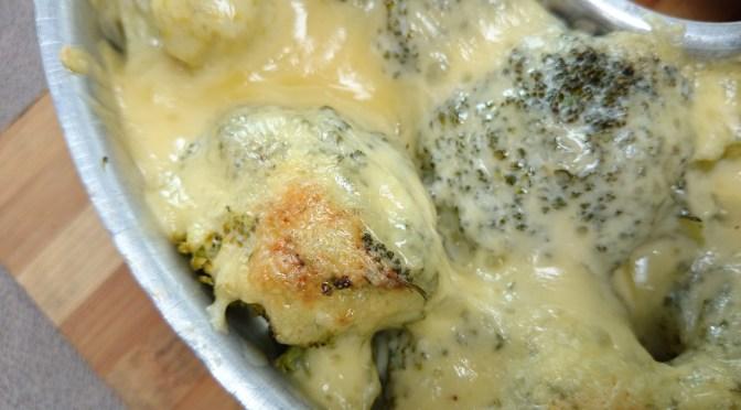 Brokkoli-Gratin aus dem Omnia backofen