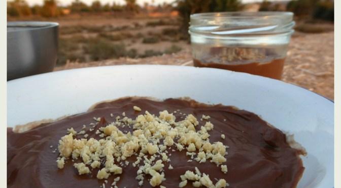 Schokoladen-Pudding und mein 1. Blogevent
