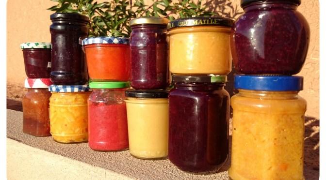 Marmelade einkochen im Wohnmobil