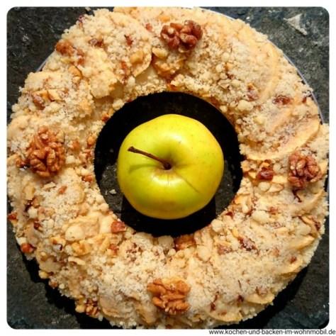 Apfelkuchen www.kochen-und-backen-im-wohnmobil.de