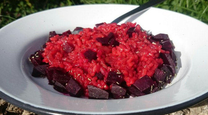 Rote Bete Risotto, Version 2.0