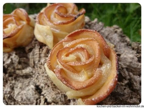 Apfelküchlein im Blätterteig kochen-und-backen-im-wohnmobil.de