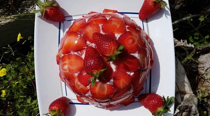 Erdbeer Charlotte / Charlotte aux fraises